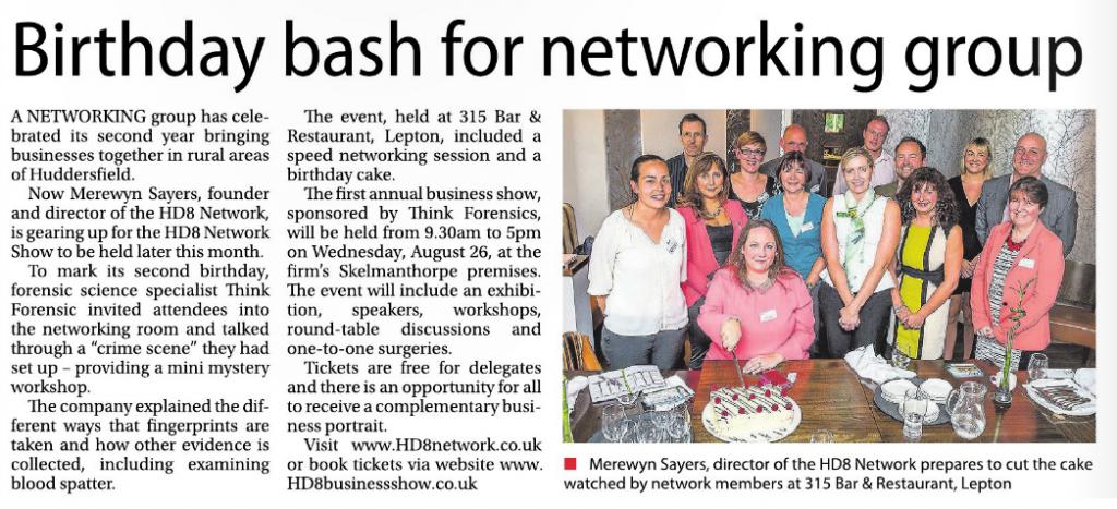 Examiner HD8 Network 2nd Birthday