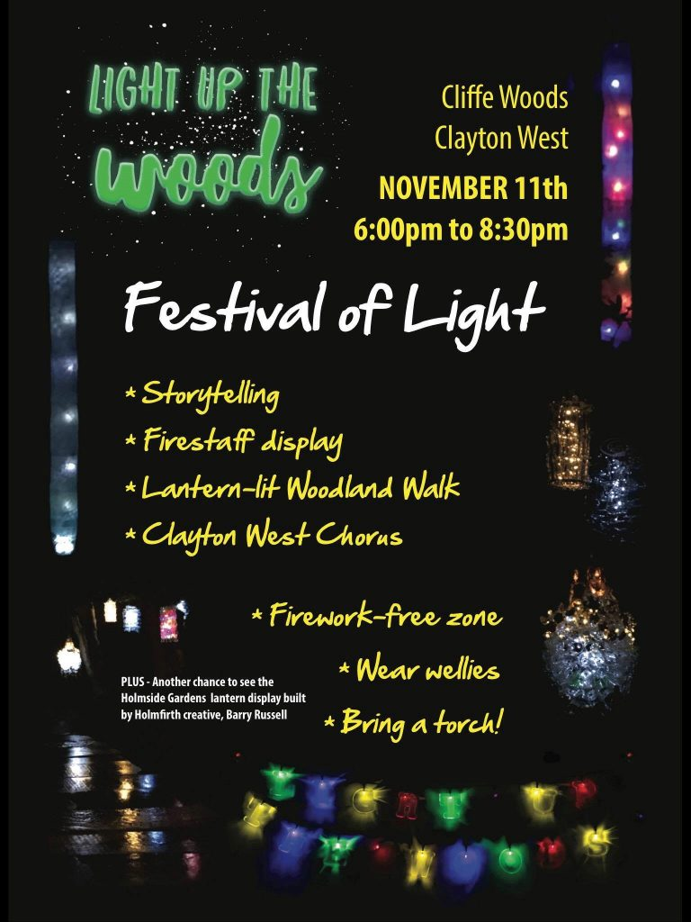 Light up the woods 11th November