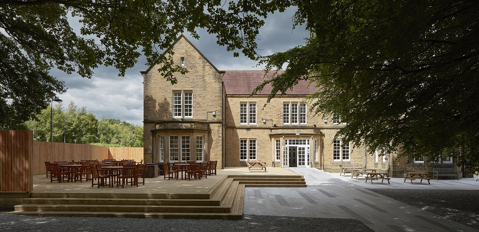 Building: Storthes Hall<br /> Location: Huddersfield, Huddersfield University<br /> AHR