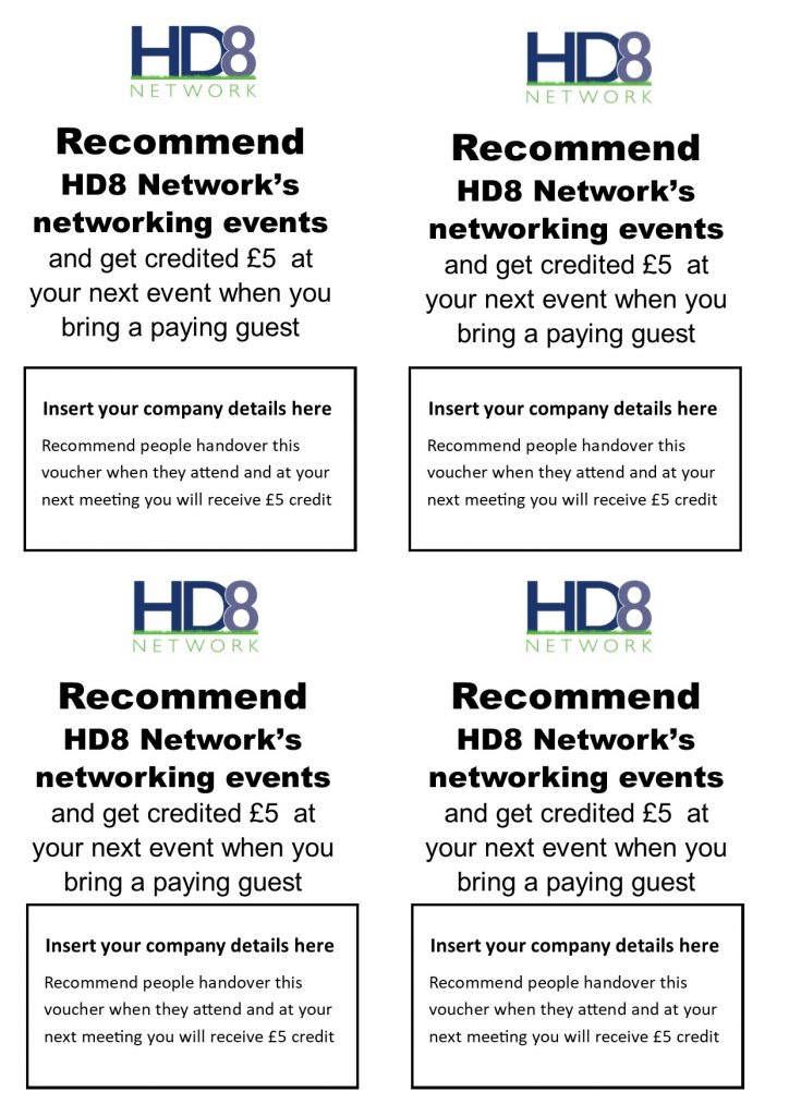 Use this image to help bring guests to our monthly Meetup networking events