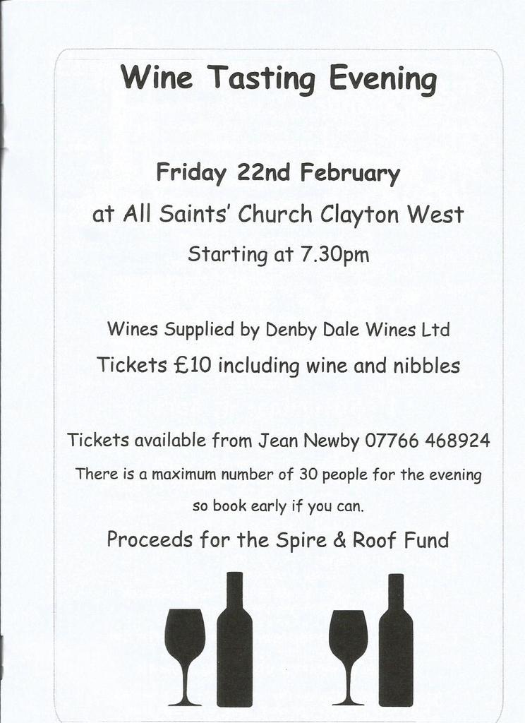 All Saints Church Wine tasting evening