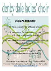 denby dale ladies choir musical director