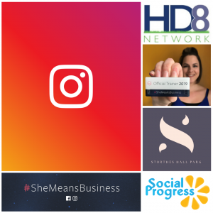 She Means Business Instagram training workshop