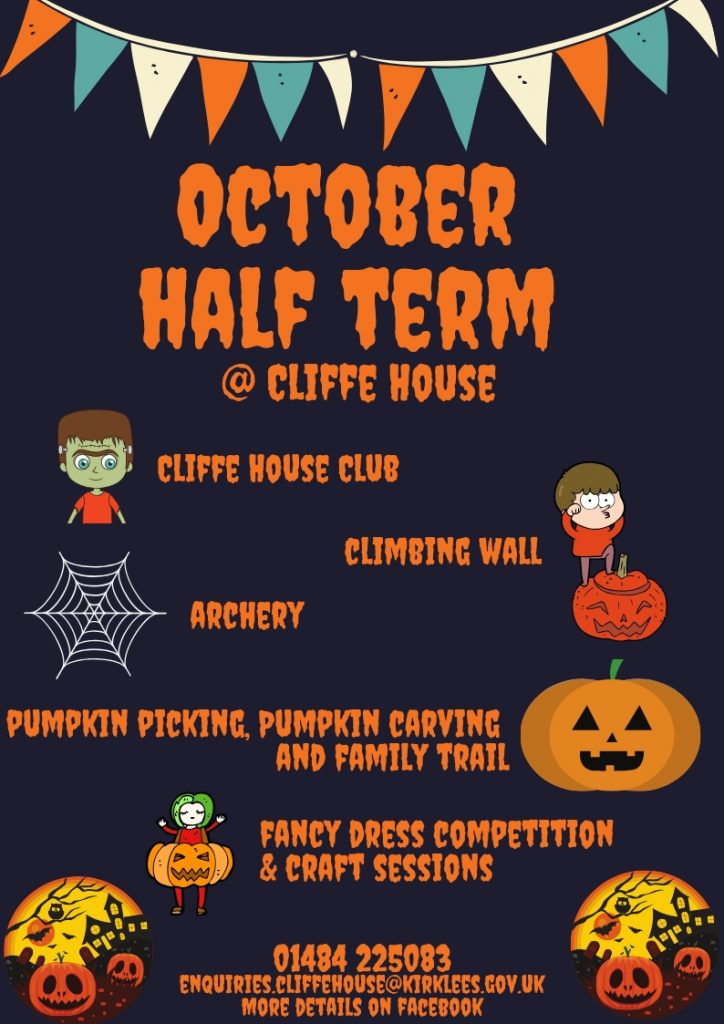 Cliffe House October 2019 Half Term