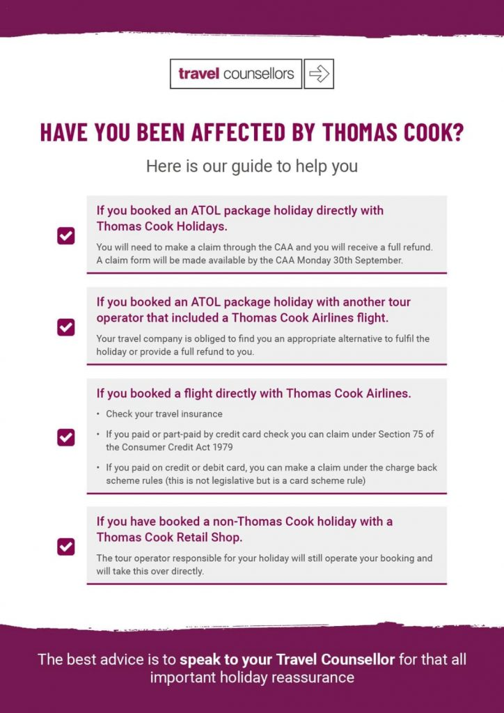 Have you been affected by Thomas Cook