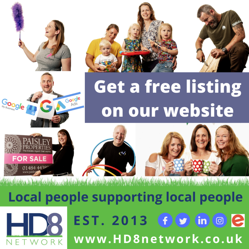 Get a free business listing on the HD8 Network