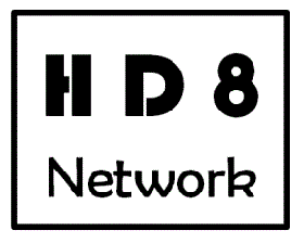 HD8 Network Background story; the old logo