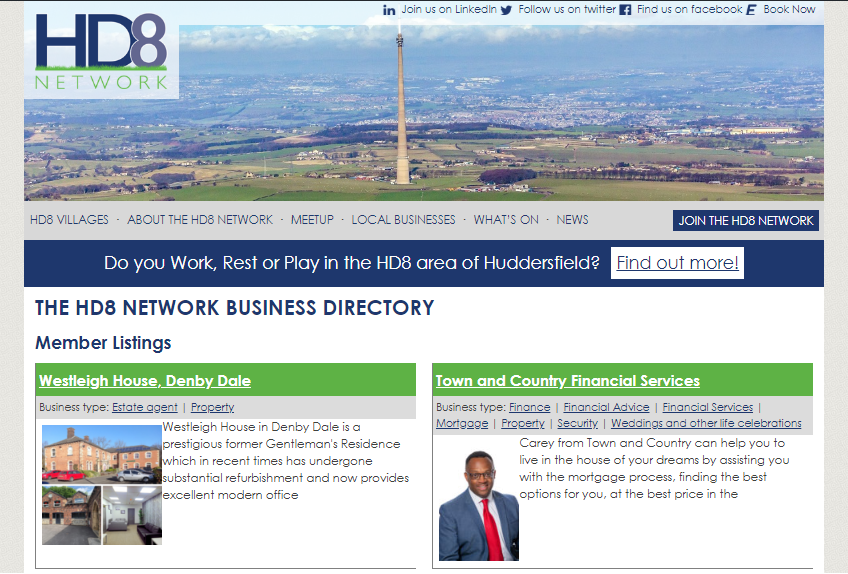 HD8 Network Directory Listing