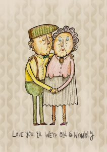 Old and wrinkly love