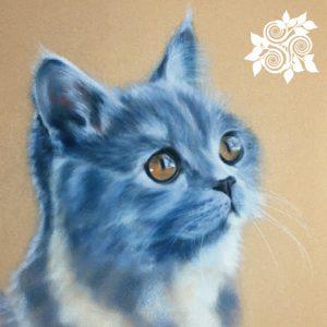 Su Melville Art Cat