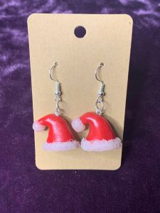Imogen Rose Designs Santa hat Earring