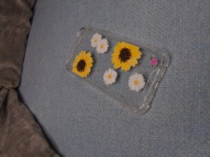 Imogen Rose Designs Sunflower Phone Cover