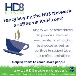 Buy HD8 Network ko-fi app