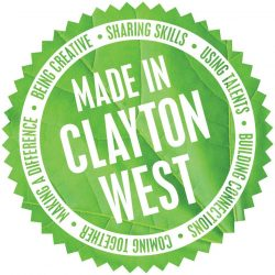 Made in Clayton West Logo