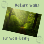 Nature Walks for Wellbeing - parents, babies and children