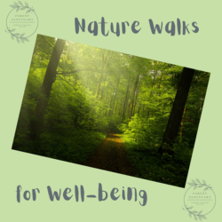 Parents Sanctuary Nature Walks