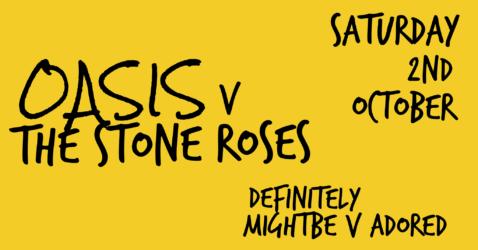 OASIS v The Stone Roses at Denroyd Farm