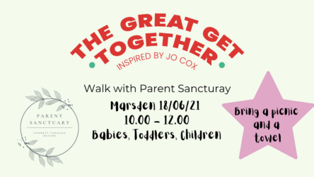 The Great Get Together walk with Parent Sanctuary