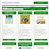 HD8 Network online events calendar